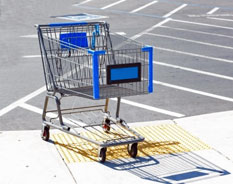 Abandoned ecommerce shopping cart
